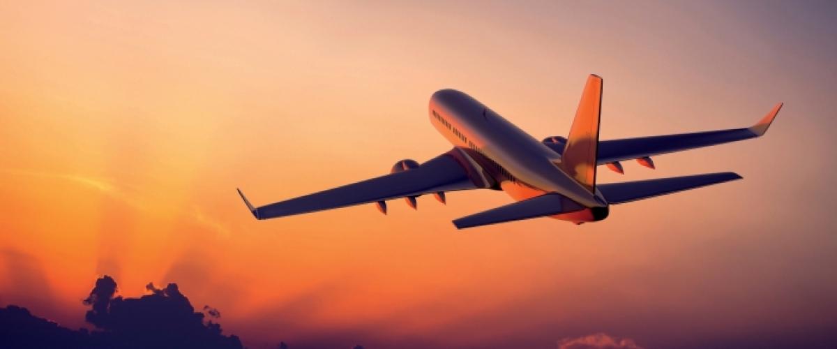 aereo in decollo